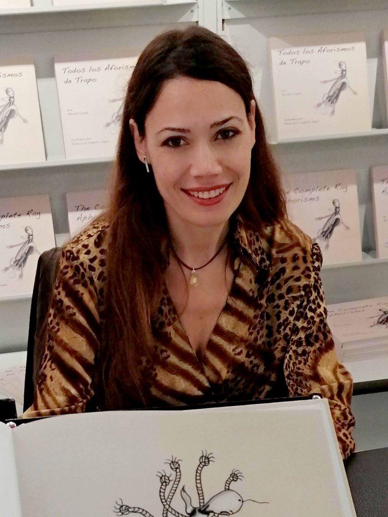 Vivian Leila Campillo at Frankfurt Book Fair 2019