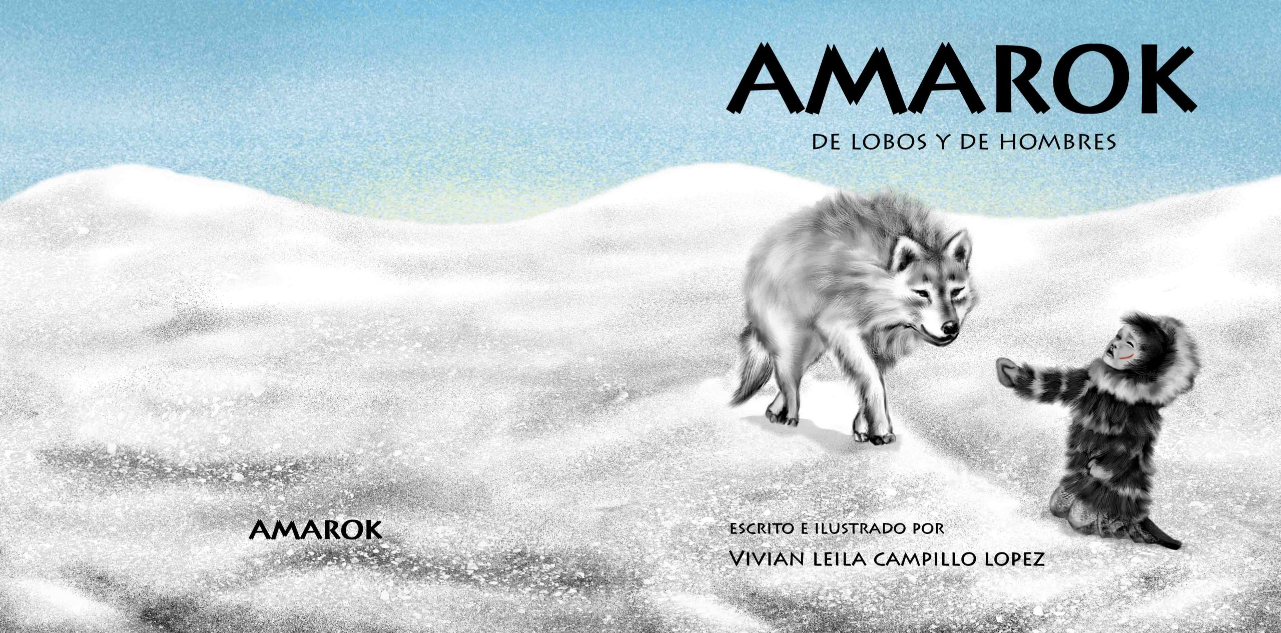 Amarok Illustrated Album by Vivian Leila Campillo TITLE