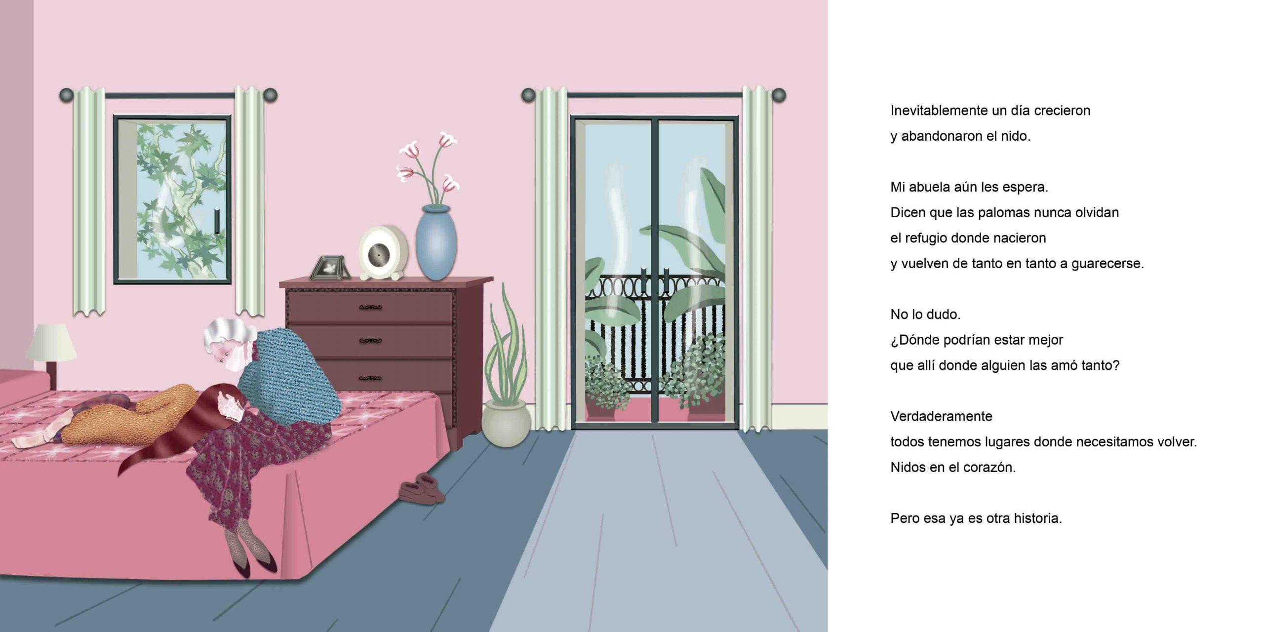 La Paloma Illustrated Album by Vivian Leila Campillo 28_29