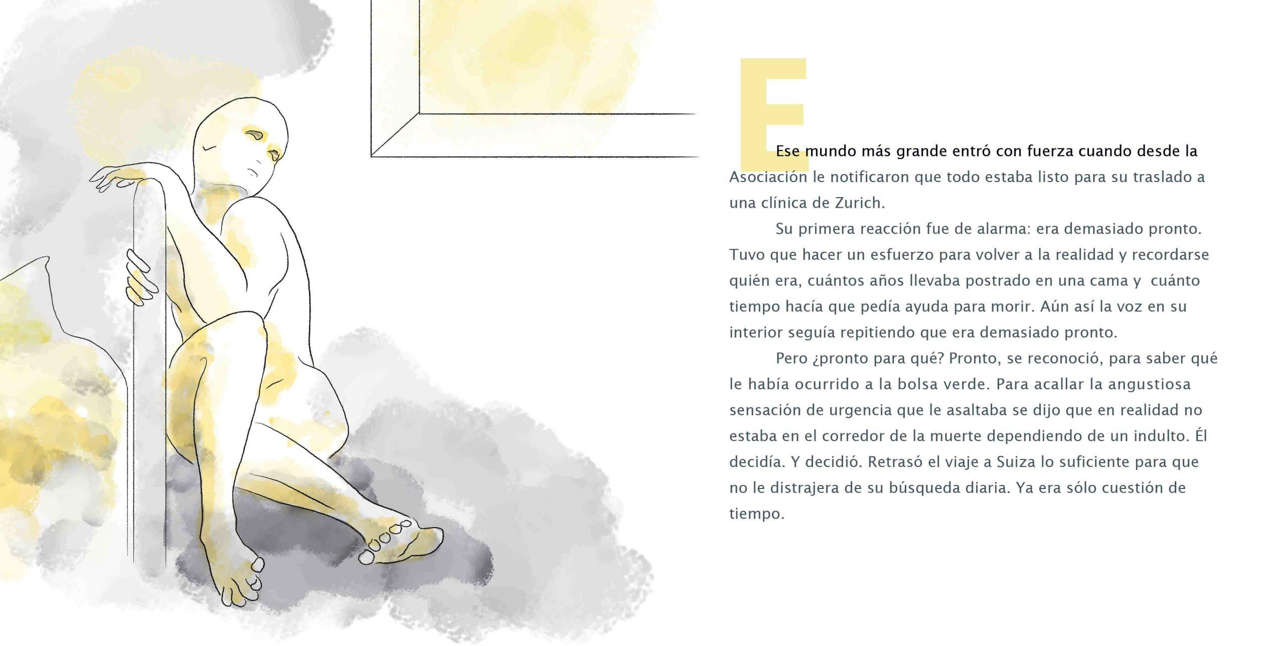 La Bolsa Verde Illustrated Album by Vivian Leila Campillo page 26-27